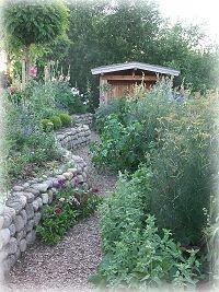 Mein Garten  Die Wege